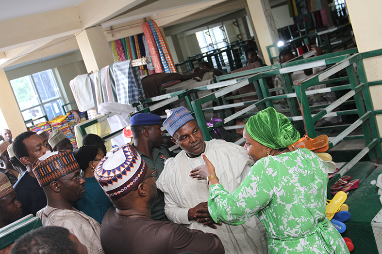 Inspection visit to  Dawanau International Grains Market and Kwari Fabric  Market  for the  Proposed  deployment of Solar  Off-Grid  Electrification
