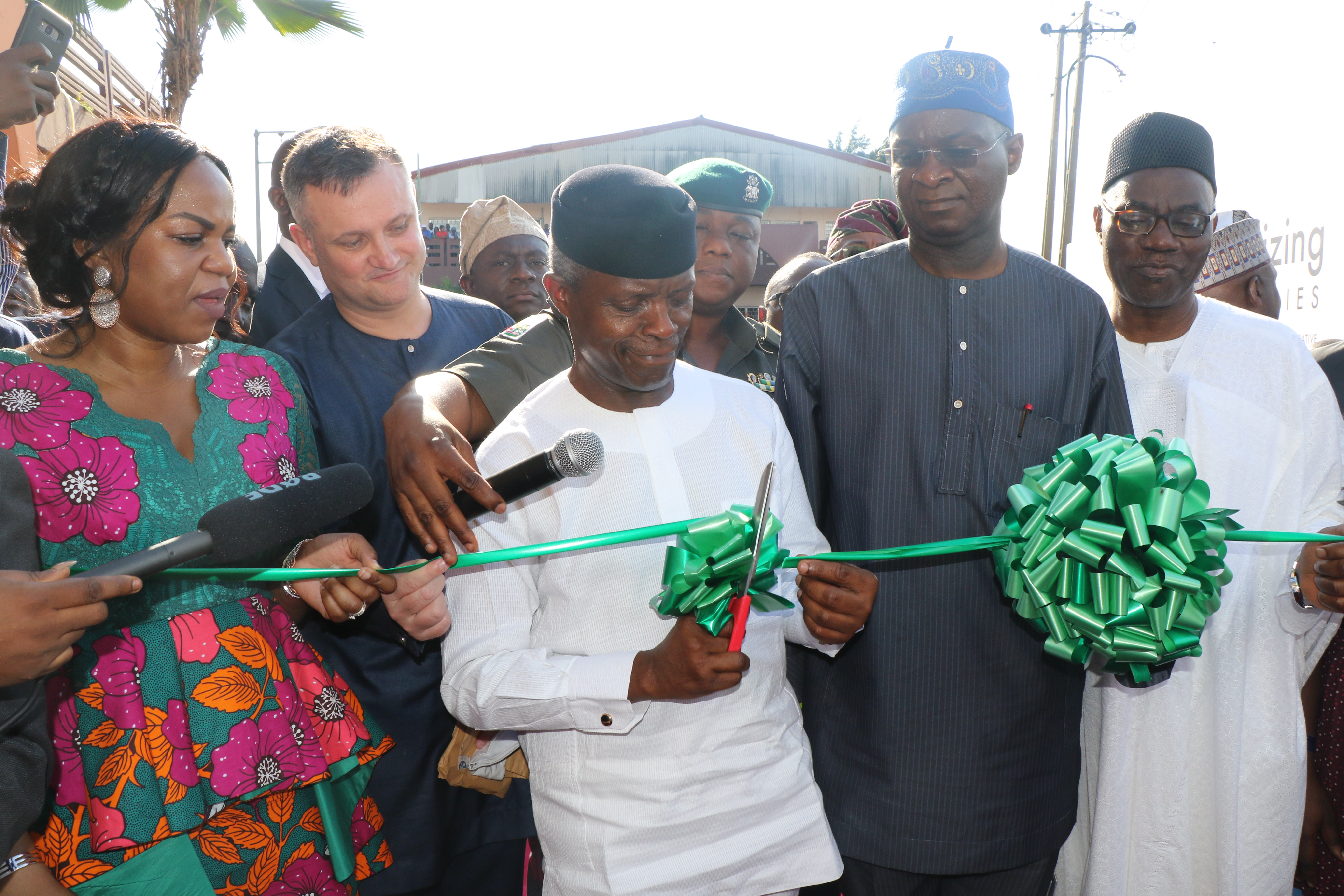 Commissioning of Sura Ultra-modern Complex IPP,  a project that powers over 1000 shops with clean, safe and uninterrupted electricity.