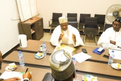 Umaru Maza Maza, Chairman and Mohd Abubakar Wasaram, Executive Director, Technical Service