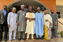 MD/CEO of REA, Ahmad Salihijo (middle), flanked by top management