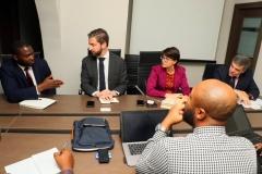 USTDA and REA meeting