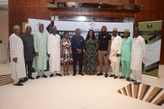 L-R: Bolakale Kawu (Director Project), Ubah Patrick (ZC South East), Bala Dambatta (ZC North west), Rose Udoh (ZC South South), M.A Wasaram (ED Technical Service) Goddy Jedy Agba (HMSP), Damilola Ogunbiyi (MD REA), Sanusi Ohiare (ED REF), Mohammed Salau (ZC North Central)Owoyomi Ademola (ZC South west) and Ahmed Lawal (ZC North East)