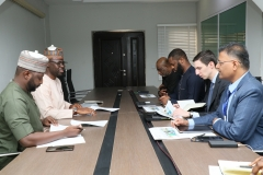 Nigeria Power Sector Program and Rural Electrifcation Agency (REA) Team during the meeting