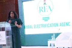 MD/CEO of REA addressing the REA Female STEM Interns during STEM Workshop