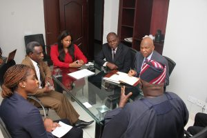 MD MEETS  WITH PRO CHANCELLOR AND VICE CHANCELLOR OF OBAFEMI AWOLOWO UNIVERSITY