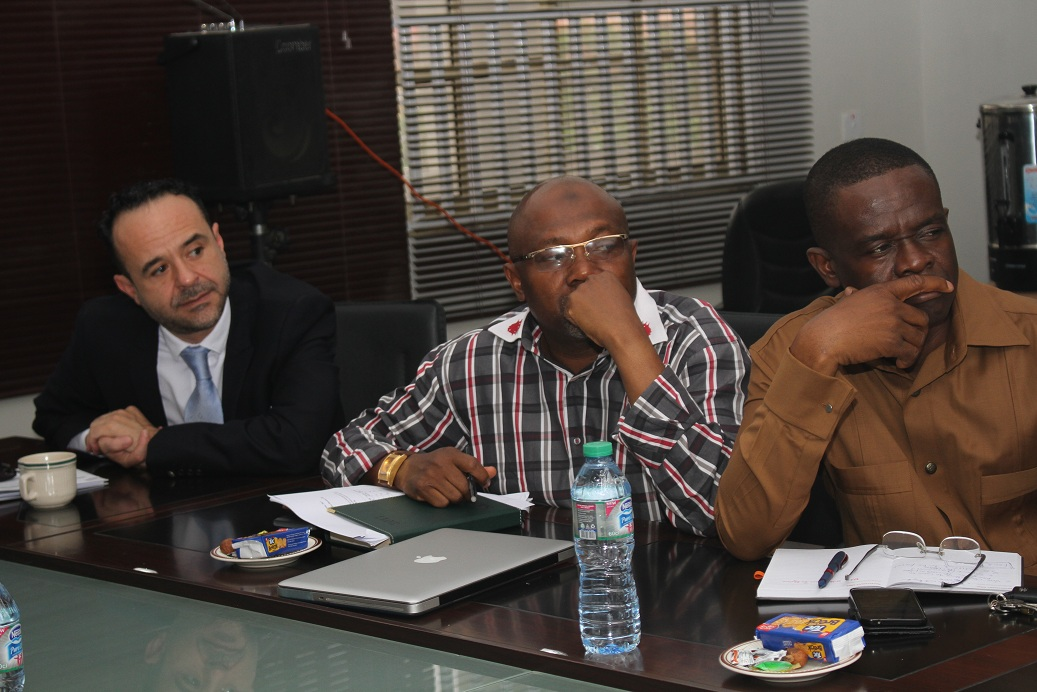 MD MEETS WITH POWER AFRICA