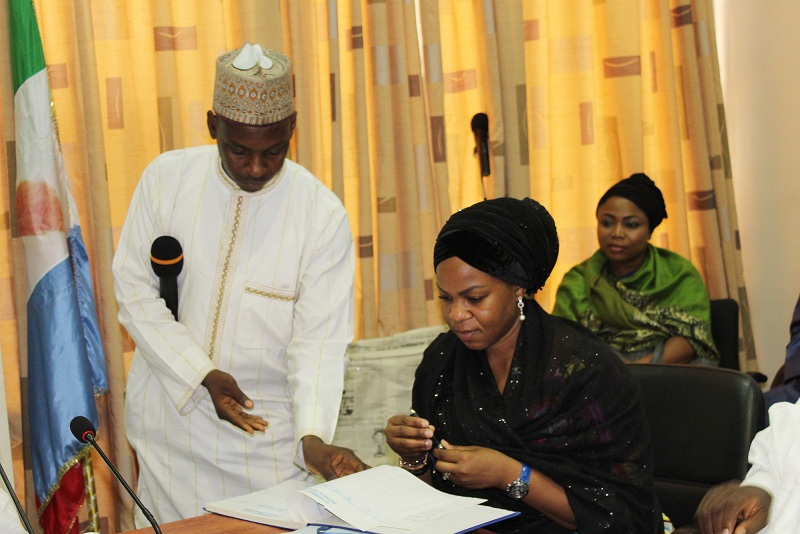 COURTESY VISIT TO THE GOVERNOR OF KANO STATE