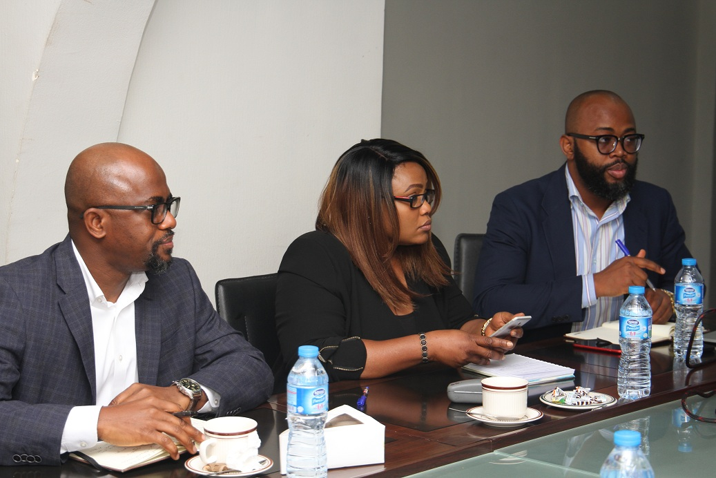 MD MEETS WITH NOAH'S ARK  COMS LTD AND SA MEDIA TO MINISTER OF POWER