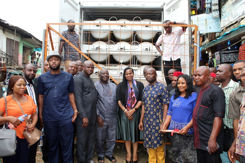 Commissioning of 22kW Gas Powered pilot for Ariaria Market