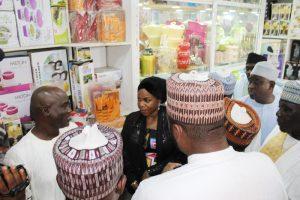 MD Inspecting  Sabon- Gari Market for the establishment  of IPP
