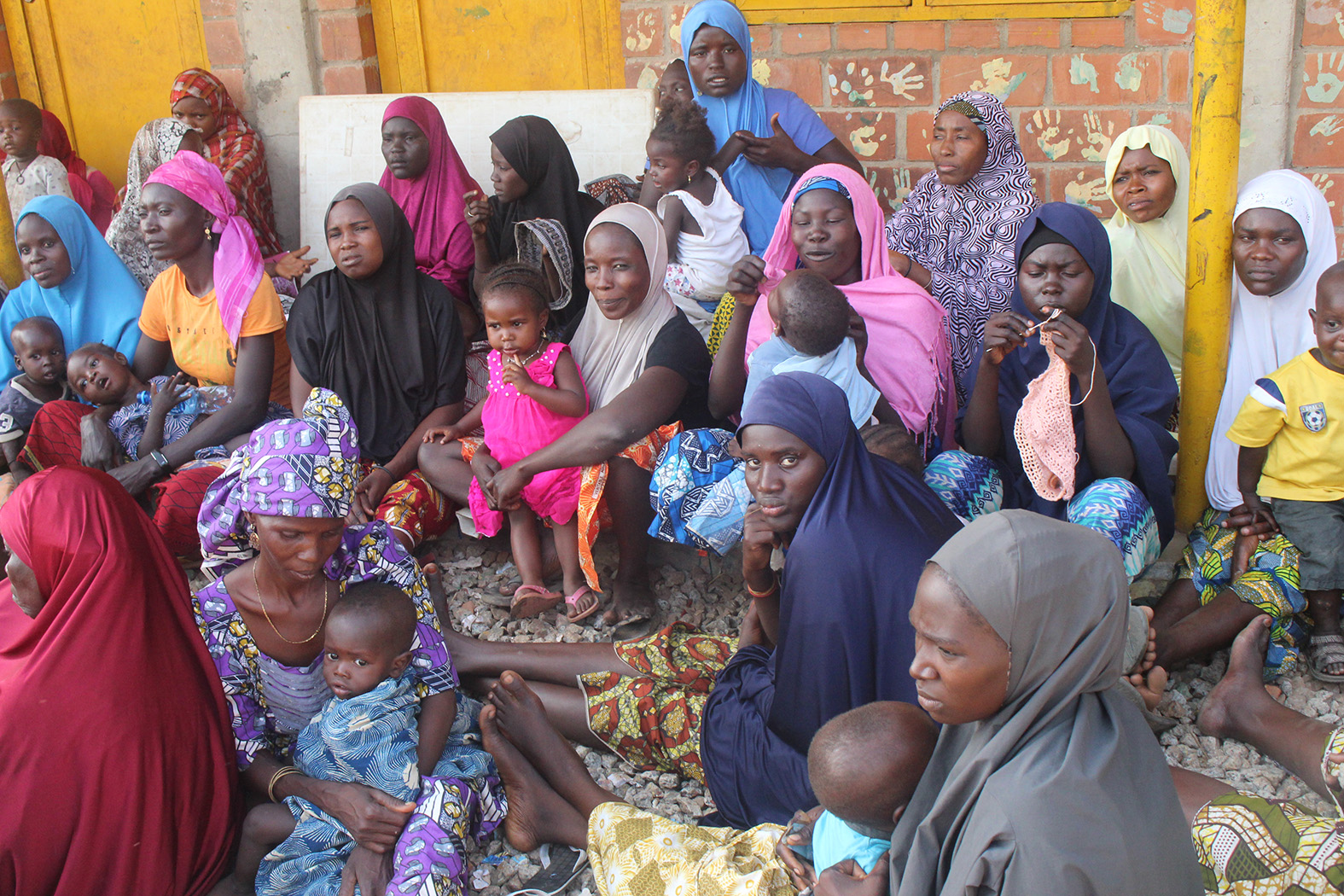REA VISIT TO DURUMI AREA 1 IDP CAMP IN ABUJA AS PART OF HER COOPERATE SOCIAL RESPONSIBILITIES