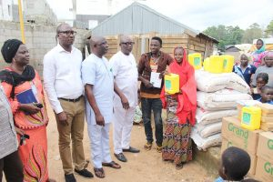 REA Visit to New Kuchigoro IDP Camp