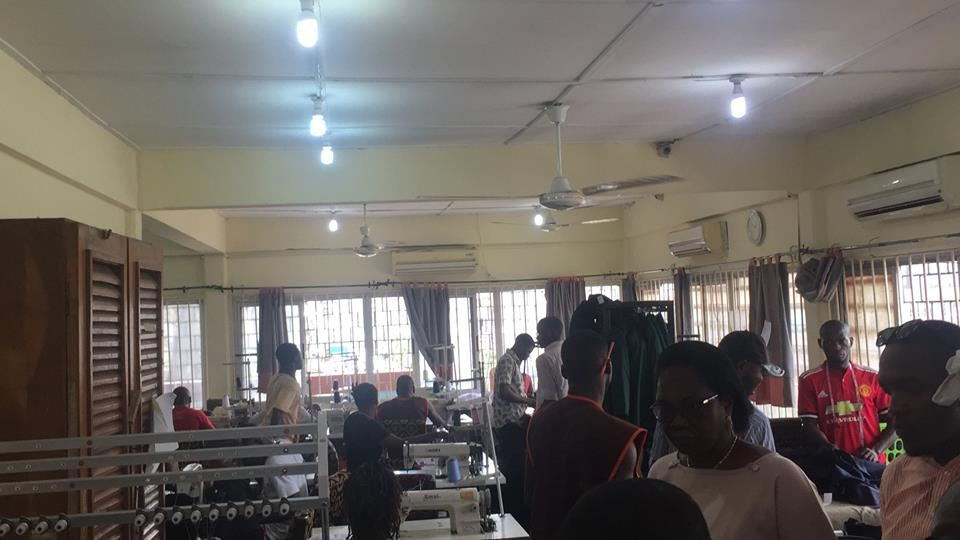 A media tour of Sura Shopping Complex, Lagos Island to sensitize journalists on the Sura Independent Power Project