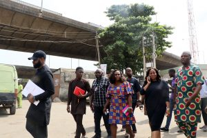 Pre – Inspection Tour By MD/CE REA To Iponri Market On The EEI