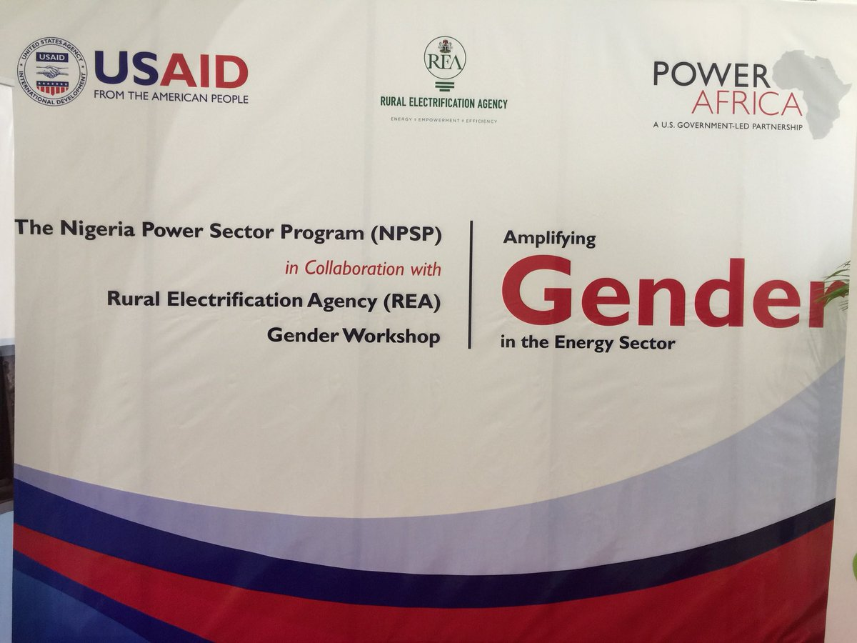 NPSP-REA Gender Workshop – Amplifying Gender in the Energy Sector