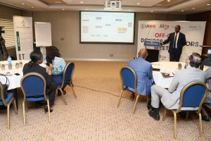 MD/CEO of REA Participates at the Off-grid Investors/ Donors Coordination Meeting
